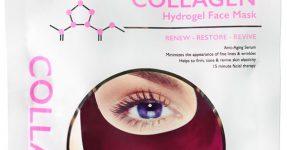 Mascarilla Facial de Hidrogel con Colágeno