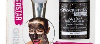 Set de Máscara Peel Off de Carbón con Glitter