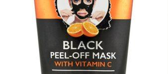 Mascara Facial Peel-Off Negra con Vitamina C